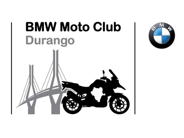 BMW Moto Club Durango. Logotipo utilizado en el sitio web Durango Oficial.