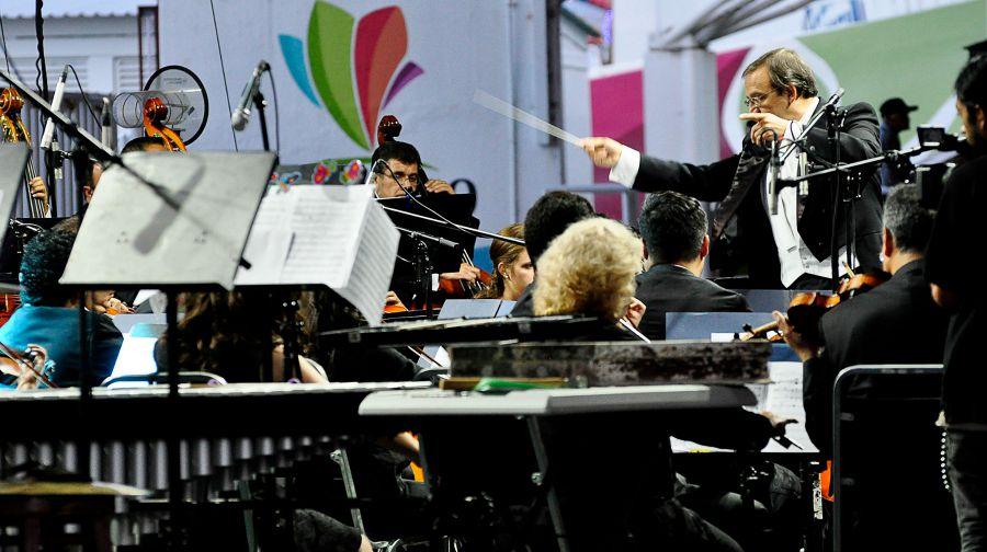 Imagen de la nota sobre el concierto tributo de la OSUJED, publicada en el sitio web durango.com.mx