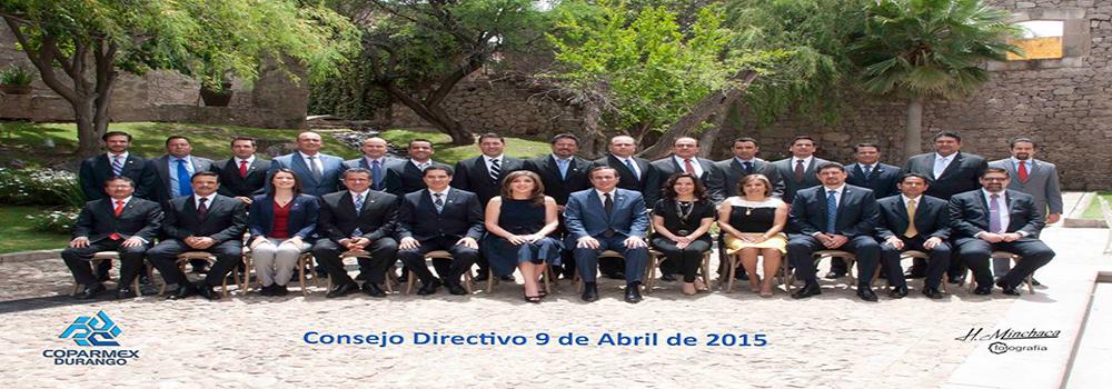 Consejo directivo COPARMEX Durango en Durango Oficial.