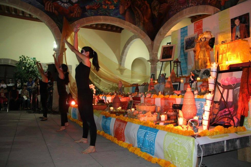 altar de muertos casa de la cultura2