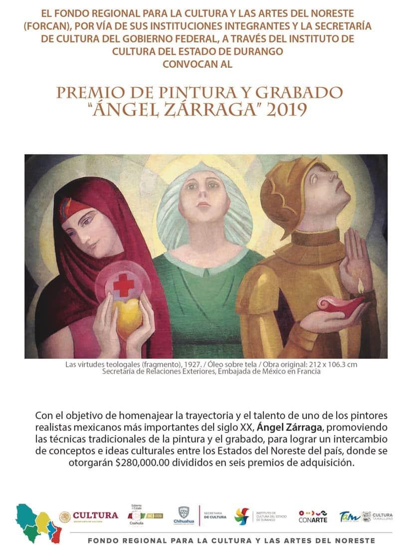 Premio de Pintura y Grabado Ángel Zárraga