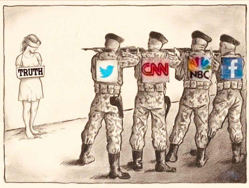Detrás de la censura fusilamiento de la verdad representación